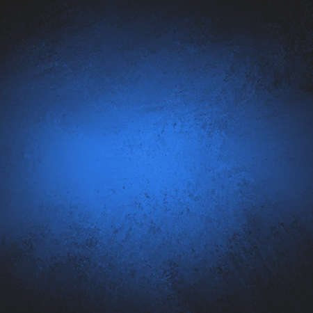 abstract blue background texture with black border illustration for abstract graphic art image for brochure posters and web design layouts, dark midnight sky blue color with spot light center Stock Illustration - 23947212