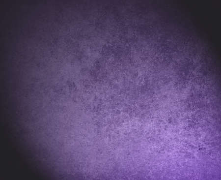 smeary: abstract purple background black faded stain corners with sponge vintage grunge background texture, distressed rough smeary paint on wall, art canvas or board for brochure ad or website template Stock Photo