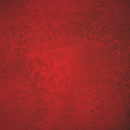 solid color: abstract red background holiday Christmas colors with sponge vintage grunge background texture, distressed rough smeary paint on wall art canvas or board for brochure ad or website template, valentine