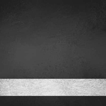 エレガントなフォーマルなスタイルの背景または web テンプレートの背景に白灰色羊皮紙リボン ストライプとモノクロ黒と白の背景レイアウト設計 写真素材