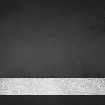 title: monochrome black and white background layout design illustration with white gray parchment ribbon stripe for elegant formal style backdrop or web template background