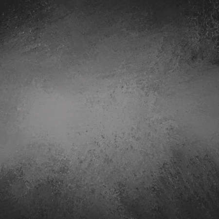 abstract black background gray charcoal color and vintage grunge background texture with blank spotlight center for text or image printing for ad or brochure  Stock Photo