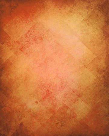 abstract gold background image pattern design on old vintage grunge background texture, yellow brown paper diagonal block pattern geometric shapes and line design elements, luxury orange background