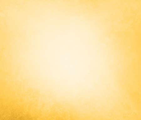 淡いゴールド ソフト パステル ビンテージ背景グランジ テクスチャ白い光の固体設計背景、クールな明白な壁紙古い金の塗料抽象的な背景が黄色色