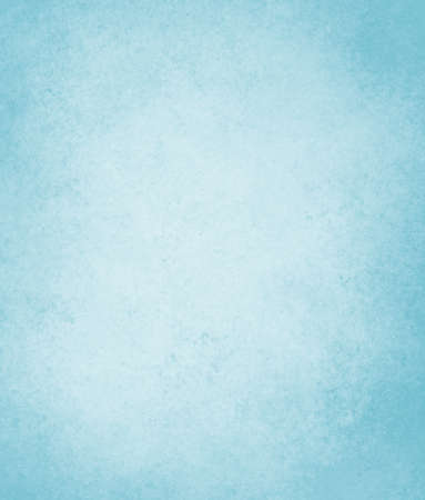 pale sky blue background with soft pastel vintage background grunge texture and light solid design white background, cool plain wall or paper, old blue painted canvas for scrapbook parchment label  Reklamní fotografie