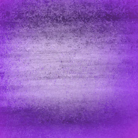 abstract purple dark border cool colors with sponge vintage grunge background texture, distressed rough smeary paint on wall photo