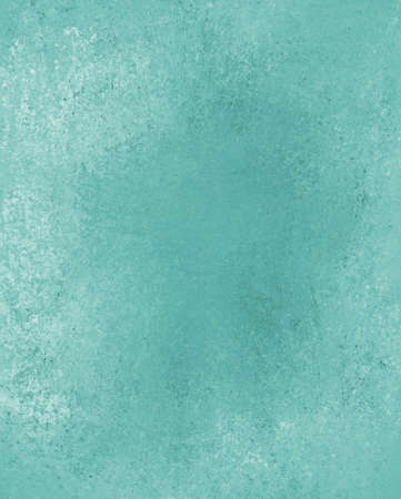 old vintage paper  distressed rough background  abstract blue green background color, vintage grunge background texture, antique retro style graphic, solid blue background, grungy white faded paint  photo