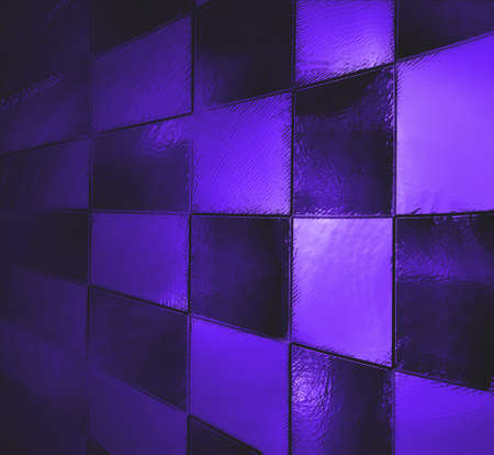 abstract blue background black purple checkered pattern photo