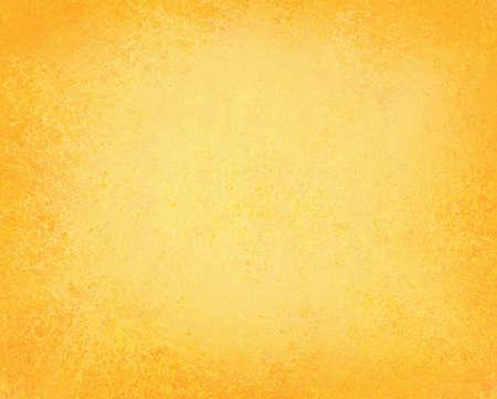 helder gele achtergrond afbeelding effen kleur primaire met zachte vintage grunge achtergrond textuur ontwerp lay-out, geel papier voor brochure advertentie of website template achtergrond voor app of webpagina's ontwerpen Stockfoto