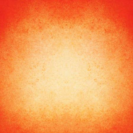 abstract orange background warm color white center dark frame, soft faded sponge vintage grunge background texture design, graphic art use in product design web template brochure ad, orange paper