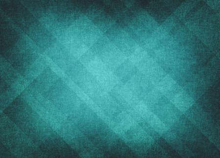 明るい青の背景の抽象レイアウト、レトロなグランジ背景テクスチャ イースター ダイヤモンド要素パターンと明るいセンター、青い空の青や緑の濃