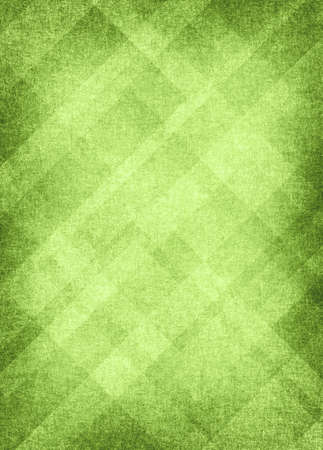 st: spring green background, bright abstract retro grunge background texture, Christmas layout of diamond element pattern line or angled stripe design with vignette black border vintage background ad  Stock Photo
