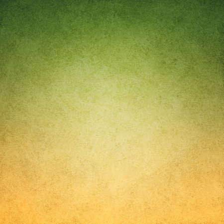 paint background: imagen de fondo de color verde amarillo con textura de fondo del grunge del vintage y de dise�o de la frontera verde manchada sucia, oro gradiente de color verde