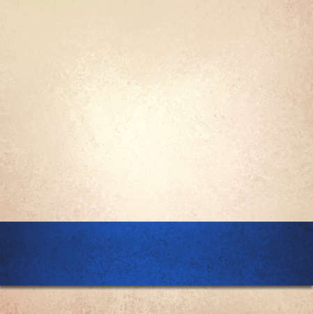 beige: abstract  background and blue ribbon stripe