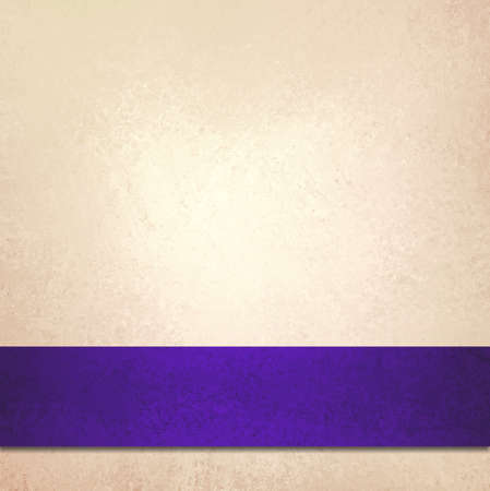 luxurious background: abstract off white background and purple blue ribbon stripe, beautiful golden background accent color or fancy elegant pale gold background paper with faint luxurious vintage background texture
