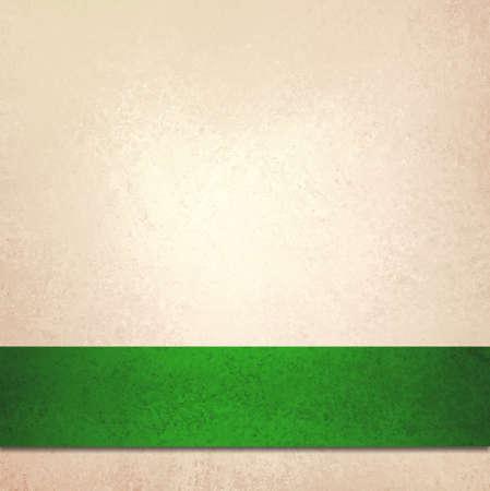fond elegant: abstraite de fond blanc et No�l ruban vert bande, belle couleur de fond d'or avec la texture de fond faible de luxe vintage ou �l�gant papier de fond d'or p�le fantaisie Banque d'images
