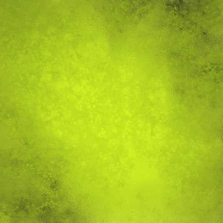 textury: žlutozelené pozadí, jemná elegantní vintage grunge textury na pozadí abstraktní houba design na zeď ilustrace na papíře nebo stacionární, pevný jednoduché pozadí, vápno zelená barva
