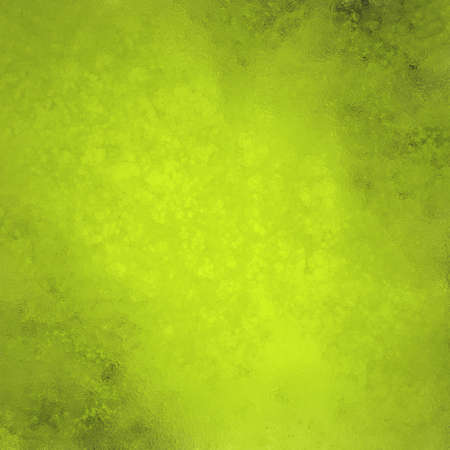 yellow green background, soft elegant vintage grunge texture background abstract sponge design on wall illustration on paper or stationary, solid plain background, lime green color