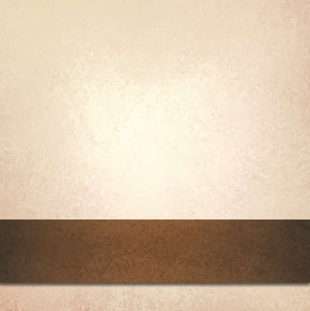 abstract off white background and brown ribbon stripe, beautiful pale gold background with faint luxurious vintage background texture, country western style background with leather ribbon illustration