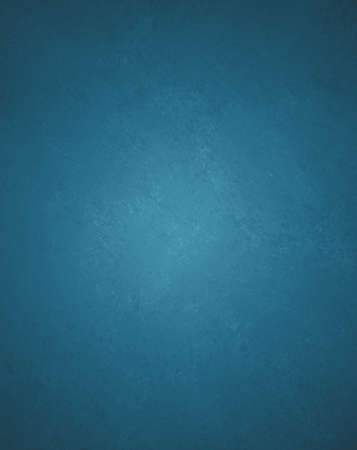 solid blue background wall paint with detailed vintage grunge background texture stain  Foto de archivo