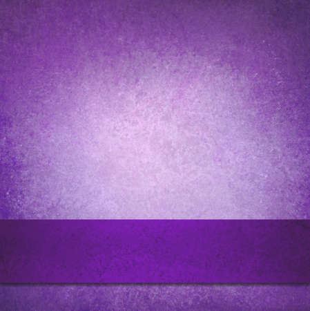 abstract purple background with elegant dark purple ribbon stripe design photo