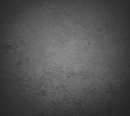 Résumé fond noir avec une texture rugueuse affligée et âgée Banque d'images