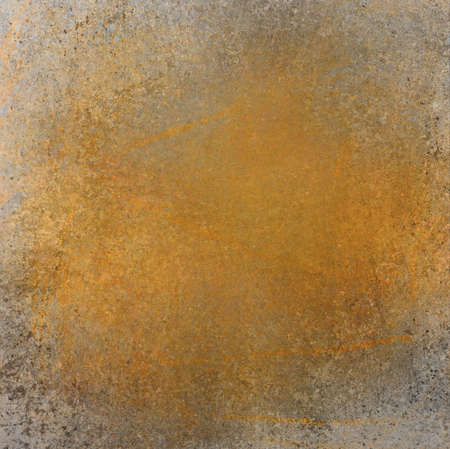 orange background design layout, rough distressed texture grunge