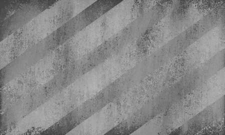 on gray: diagonal striped background pattern design with shabby vintage texture and light and dark angle line design elements,monochrome black gray background colors