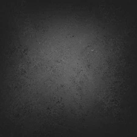 Festen schwarzen Hintergrund mit grauen Zentrum Licht, Distressed Vintage-Hintergrund Textur-Design, schwarz Tafel Standard-Bild - 30016866