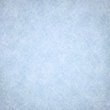 blue backgrounds: solid blue background texture, light pastel sky blue color and faded old distressed texture design of faint white fine detailed line pattern surface Stock Photo