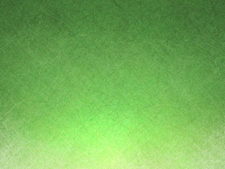 backgrounds: abstract green gradient background with detailed texture and bottom border lighting design Stock Photo