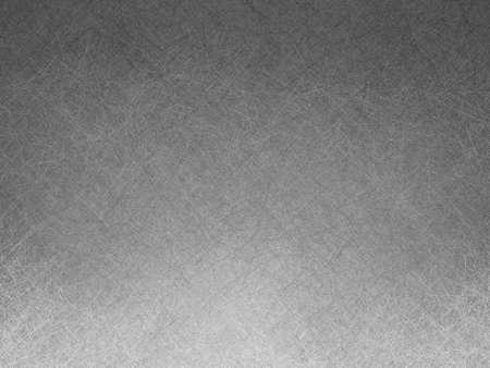 paper note: abstracta fondo degradado blanco y negro con textura detallada y dise�o de iluminaci�n borde inferior, gris documento de antecedentes Foto de archivo