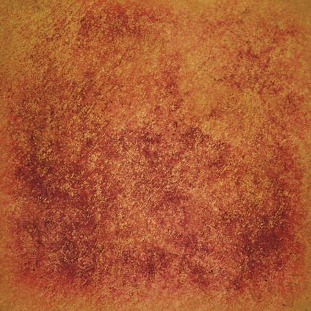 textured orange paper background design, orange painted wall surface with pitted bumpy grunge texture  Stock Photo