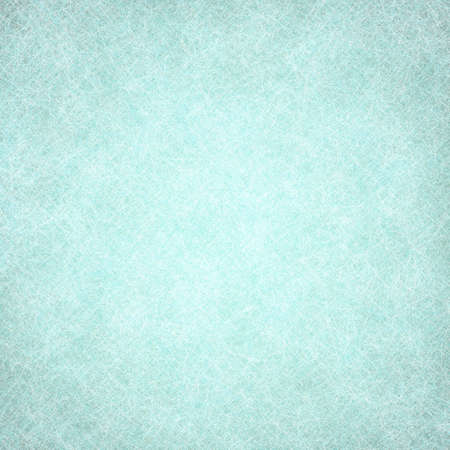 blue backgrounds: solid blue green background texture, light pastel teal color and faded old distressed texture design of faint white fine detailed line pattern surface  Stock Photo