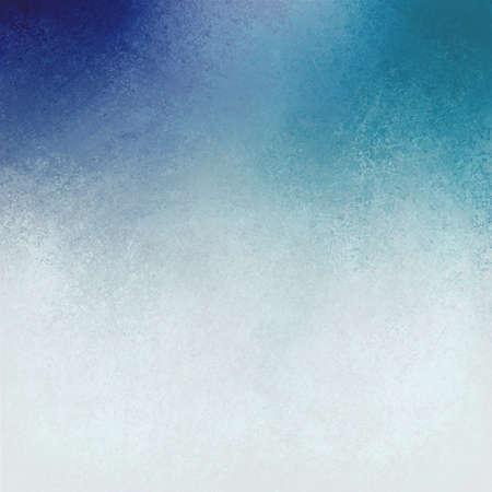fondo vintage azul: fondo blanco azul dise�o, mezclado pintura azul y blanco fresco con vieja textura detallada sin hueso, envejecido vintage apenada azul tel�n de fondo blanco