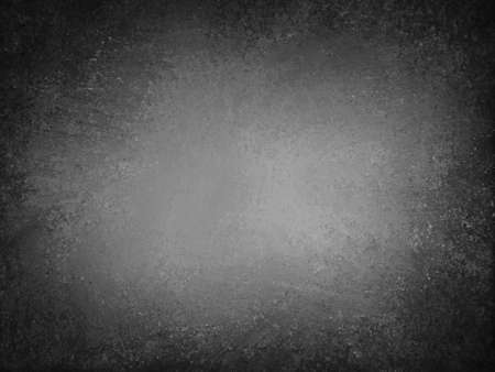 black textured background: abstract black background, old black vignette border frame white gray background, vintage grunge background texture design, black and white monochrome background for printing brochures or papers  Stock Photo