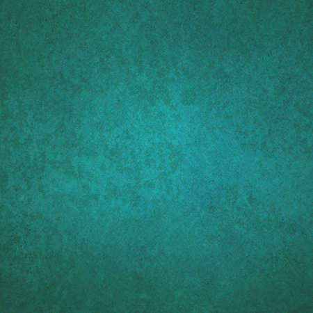 painted blue teal background with vintage rust texture design Stock Photo