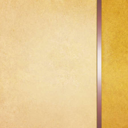 beige: elegant blank gold beige background with sidebar template and vintage texture