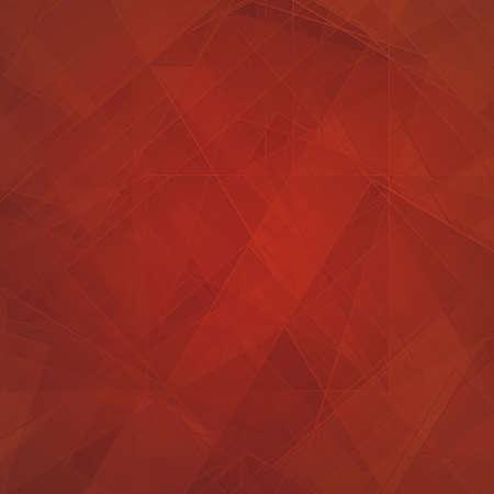 dark red background, abstract design elements of diamond triangles and square pattern lines, shiny glass texture photo