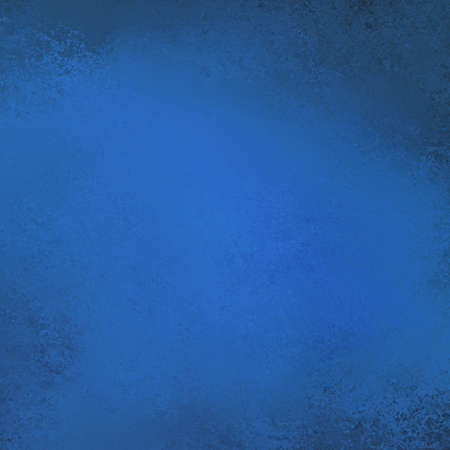 abstract blue background texture with black border illustration for abstract graphic art image for brochure posters and web design layouts, dark midnight sky blue color with spot light center