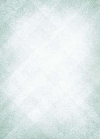 抽象的な淡い緑色背景クリスマス色ホワイト センター ダーク フレーム、色あせたスポンジ ビンテージ グランジ背景テクスチャ デザイン、製品設 写真素材