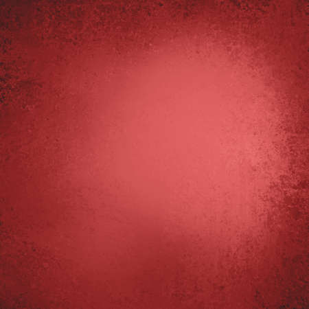 abstract red background vignette black border, vintage grunge background texture layout design, scarlet color background, Christmas web template background, elegant solid red paper with spotlight photo