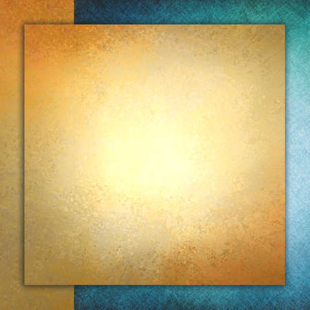 elegant gold background texture paper, gold and blue layers design, luxurious gold layout photo