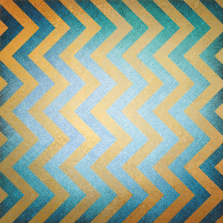 elegant blue gold background chevron striped pattern, texture paper with abstract angles and diagonal waves