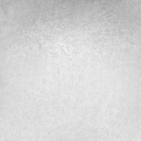 solid silver: white gray background image, distressed sponge grunge vintage texture layout design Stock Photo