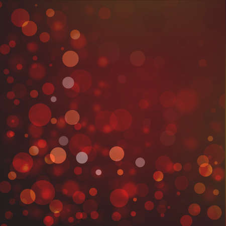 Beautiful red black bokeh background