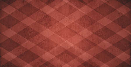 diagonal striped pattern background, light red and dark black diamond checkered  photo