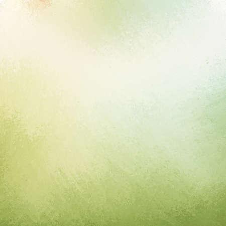 paint background: elegante fondo de color verde claro con p�lido punto central blanco y oscuro grunge textura dise�o de la frontera con iluminaci�n suave Foto de archivo