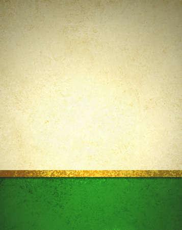 navidad elegante: fondo de oro abstracto con el pie de página de color verde oscuro y la cinta del oro frontera ajuste, hermoso diseño de fondo de la plantilla, el papel del oro elegante de lujo con diseño vintage grunge textura de fondo