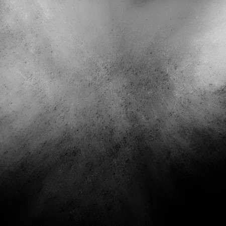 black and white: distressed gray background with black vintage grunge background texture on border, smeared black painted wall for presentation background, black website or ad backdrop, dirty stained surface texture